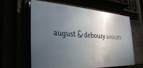 Plaque August Debouzy