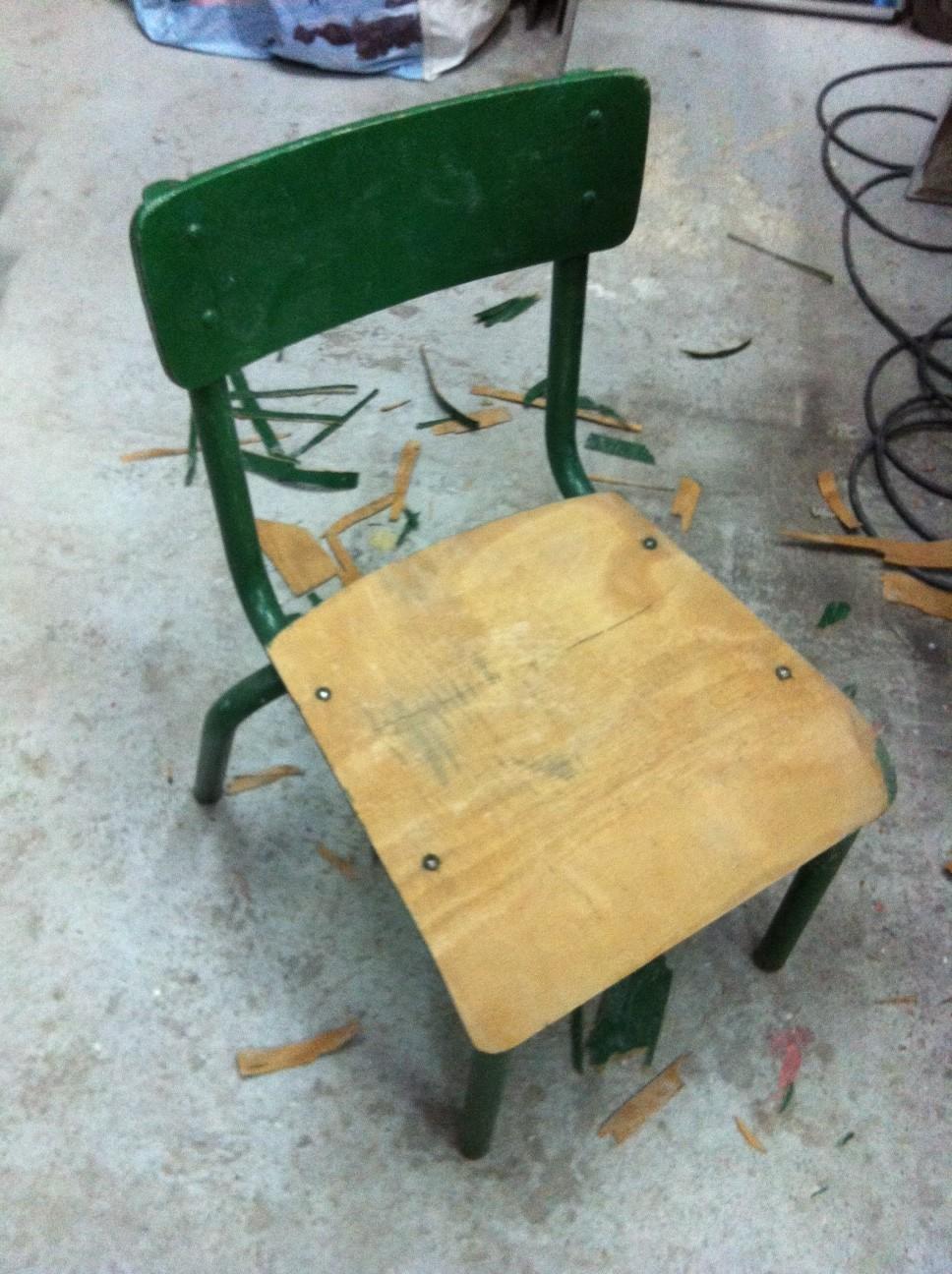 photo 1 Restauration Rapide // Chaise Enfant