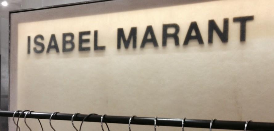 Panneau résine Isabel Marant